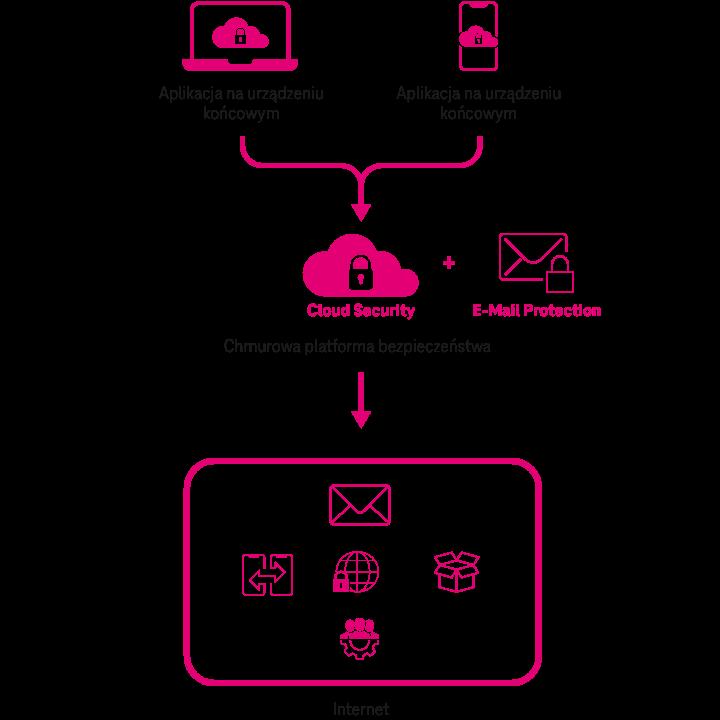 Zasada działania Cloud Security