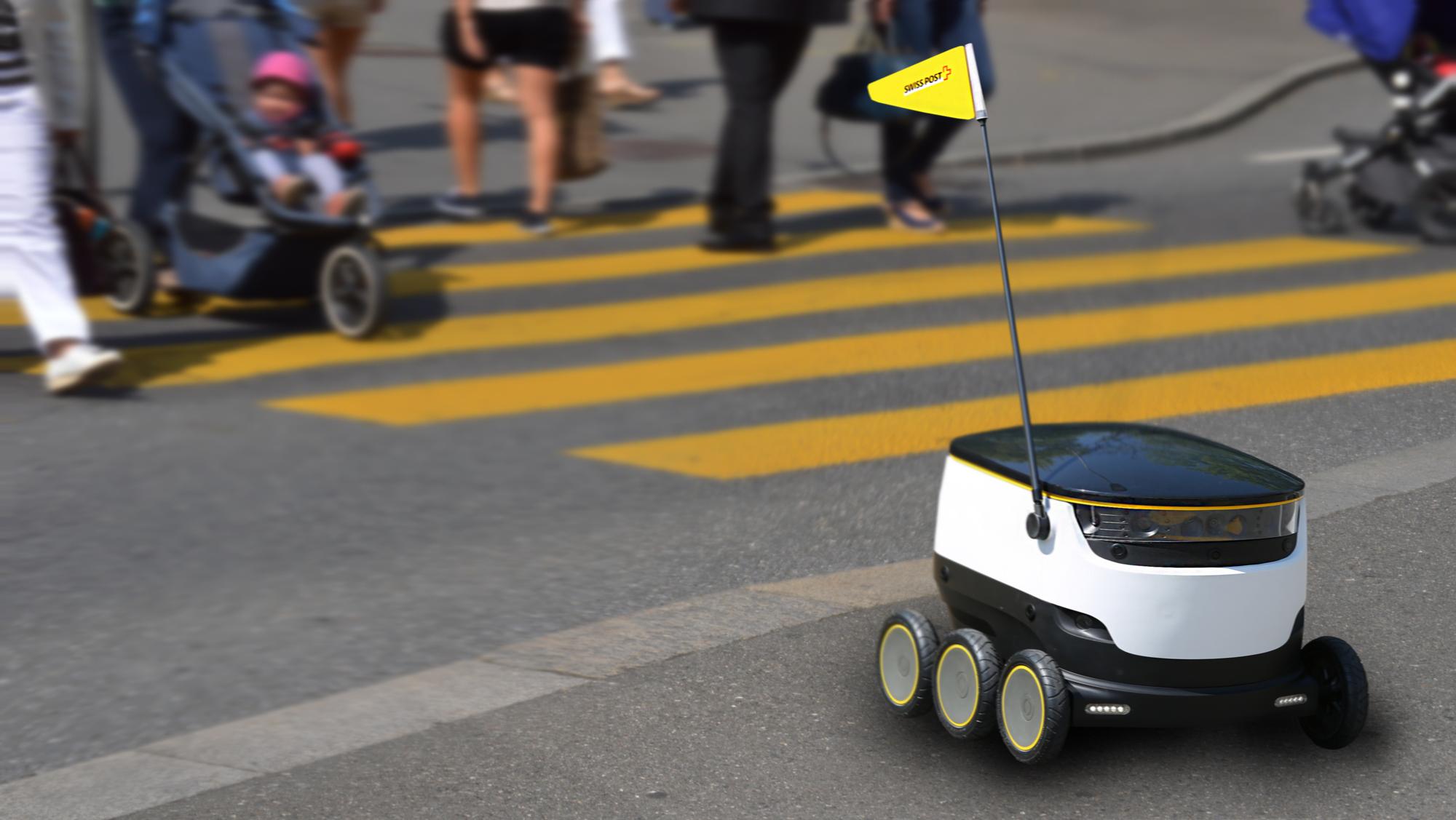 Robot dostawczy Poczty Szwajcarskiej
