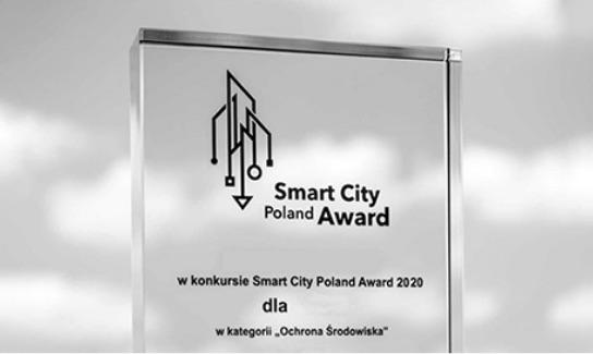 Projekt nagrodzony w konkursie Smart City Poland Award 2020